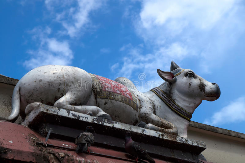 Tempio di Sri Veeramakaliamman, poca India, Singapore fotografie stock libere da diritti