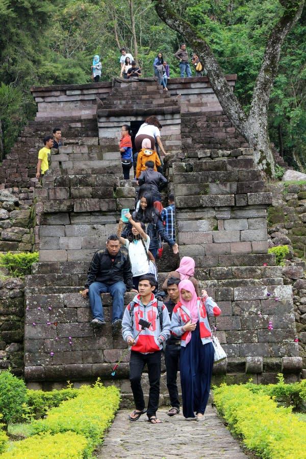 Tempio di Sukuh immagine stock