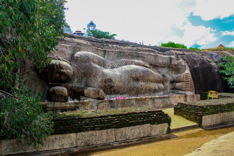 Tempio di Thanthirimale nello Sri Lanka immagini stock libere da diritti
