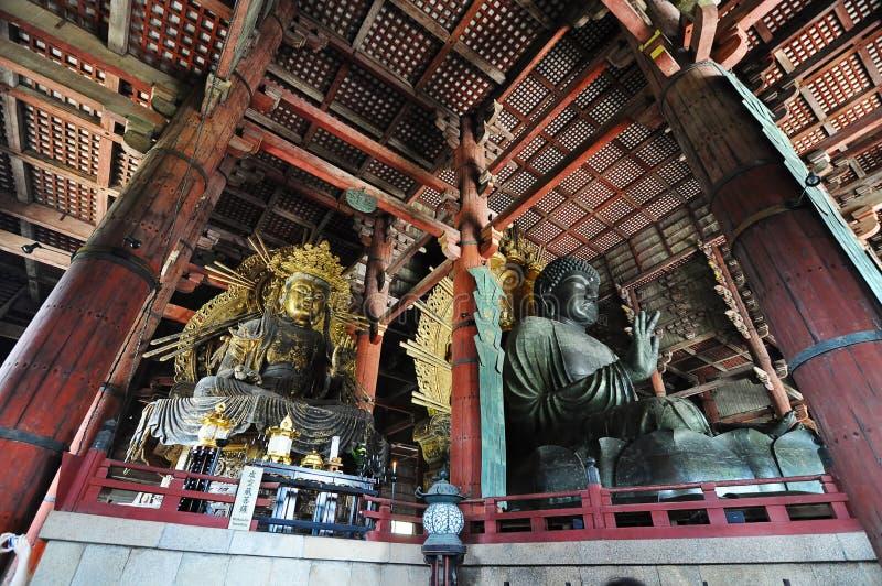 Tempio di Todaiji (Nara, Giappone) fotografia stock