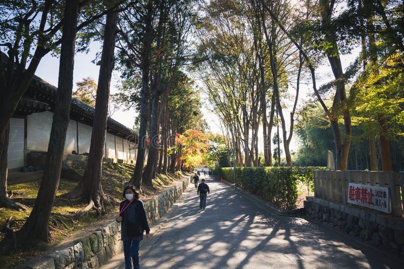 Tempio di Tofukuji fotografia stock libera da diritti
