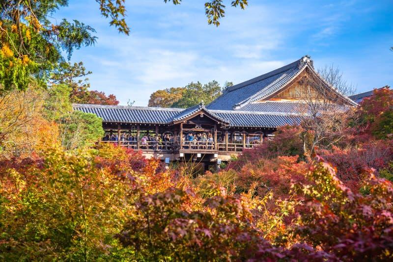 Tempio di Tofukuji immagini stock libere da diritti