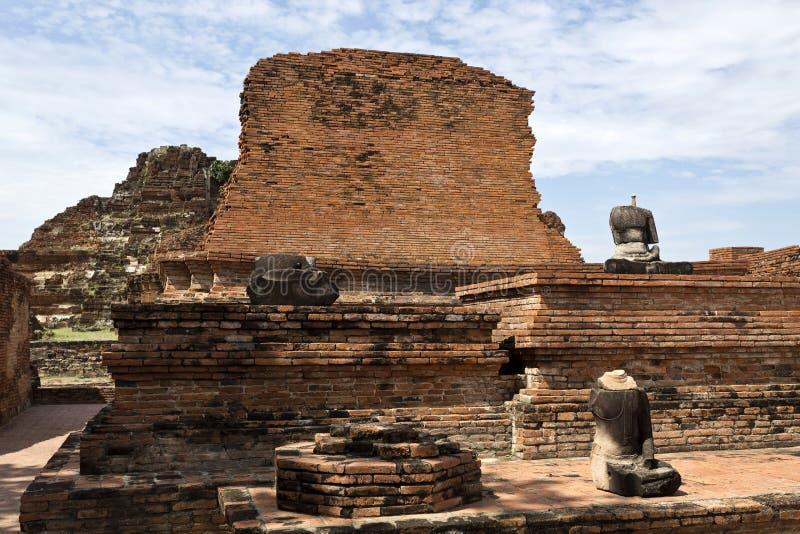 Tempio di Wat Mahathat immagini stock