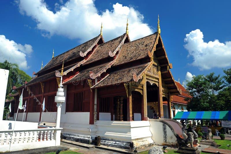 Tempio di Wat Phra Singh immagini stock