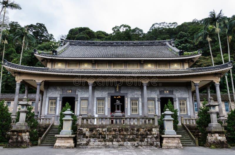 Tempio di YuanTong in Taipei Taiwan immagine stock