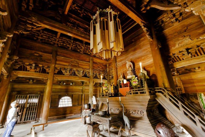 Tempio di Zuiryuji fotografie stock libere da diritti