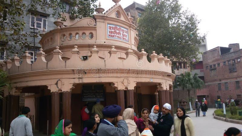 tempio dorato Amritsar India India fotografia stock libera da diritti