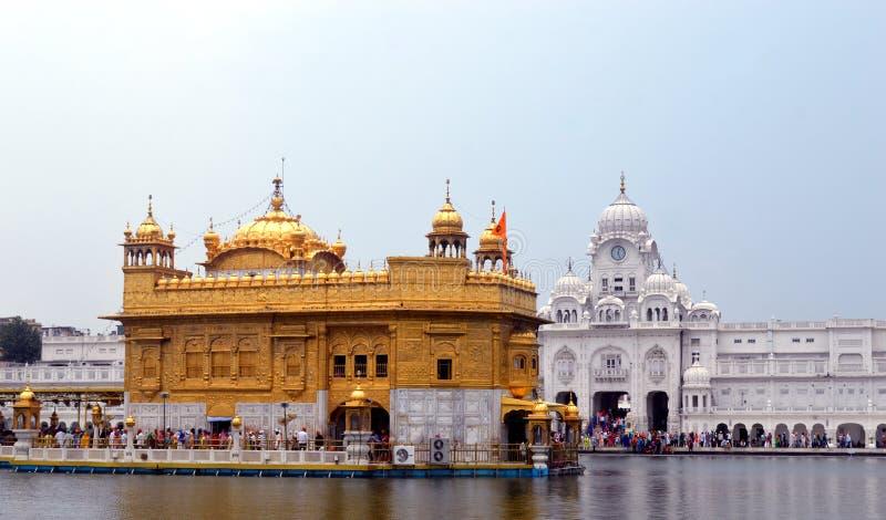 Tempio dorato di Amritsar fotografie stock
