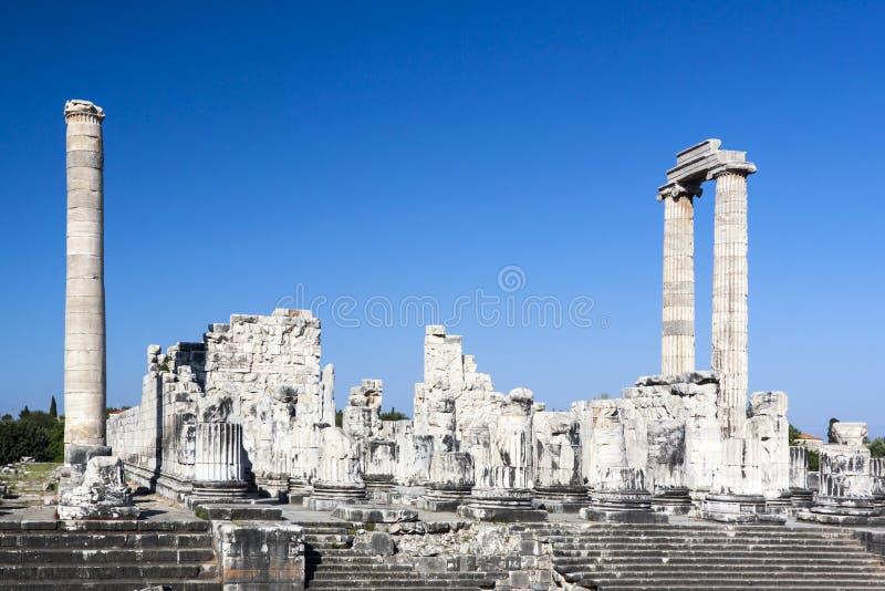 Tempio e Oracle di Apollo fotografia stock