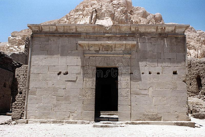 Tempio egitto di Hathor fotografia stock