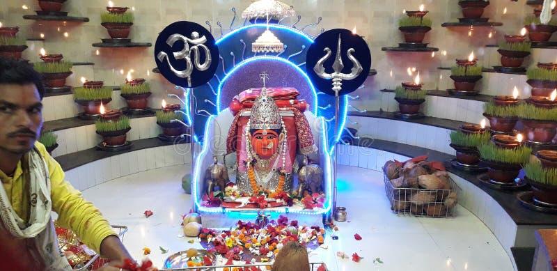 Tempio famoso dei religns di Chhatisghar fotografia stock
