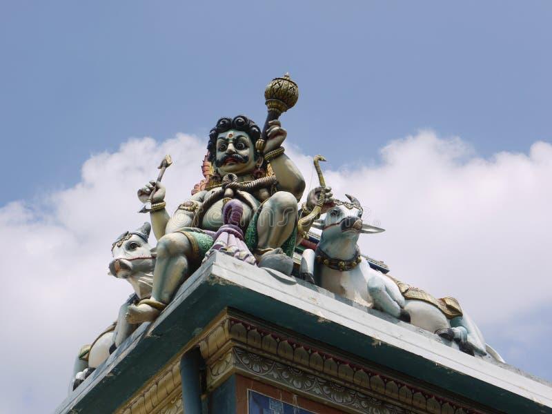 Tempio indù di Colombo immagini stock