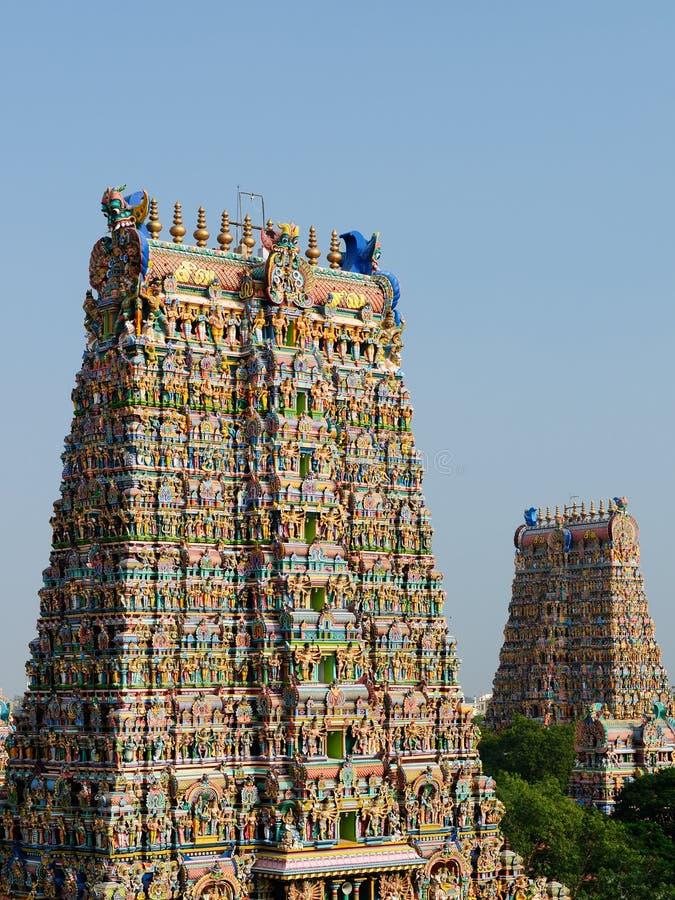 Tempio indù indiano fotografia stock libera da diritti