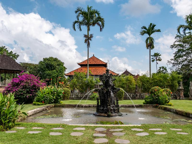 Tempio indù Pura Taman Ayun, Bali, Indonesia immagini stock libere da diritti