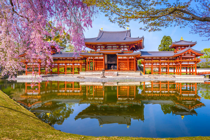 Tempio Kyoto di Byodoin immagine stock libera da diritti