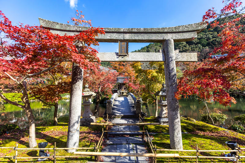 Tempio Kyoto di Eikando fotografia stock