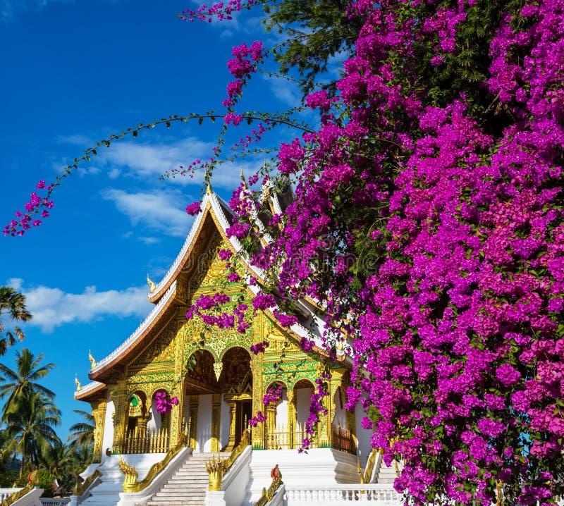 Tempio in Luang Prabang immagini stock libere da diritti