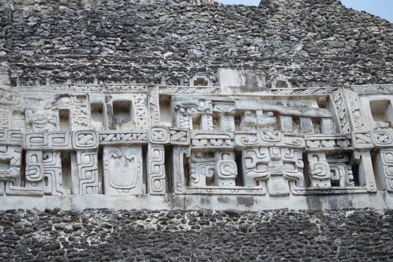 Tempio maya fotografia stock libera da diritti