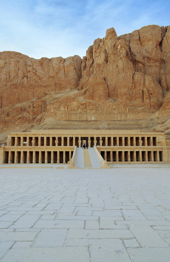 Tempio mortuario della regina Hatshepsut fotografia stock