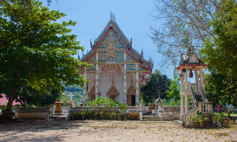 Tempio Samui, Tailandia di Wat Bo Phut immagine stock libera da diritti