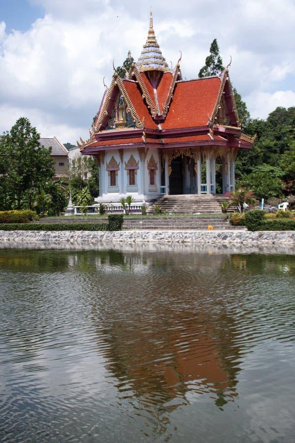 Tempio Samui, Tailandia di Wat Bo Phut immagine stock