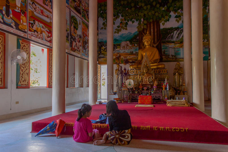 Tempio Samui, Tailandia di Wat Bo Phut immagini stock