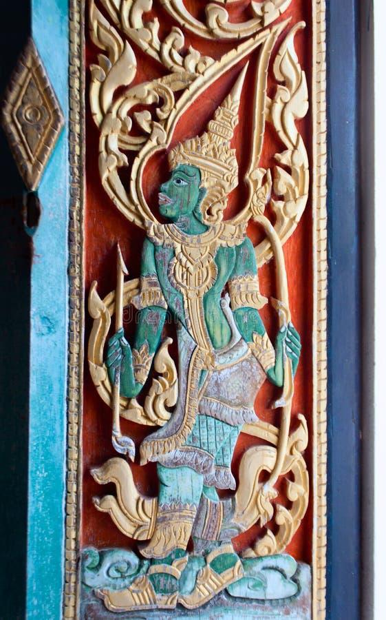 Tempio Samui, Tailandia di Wat Bo Phut fotografie stock