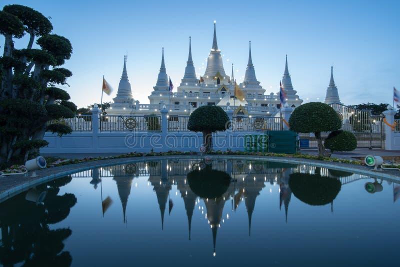 Tempio Samut Prakarn di Asokaram immagine stock libera da diritti