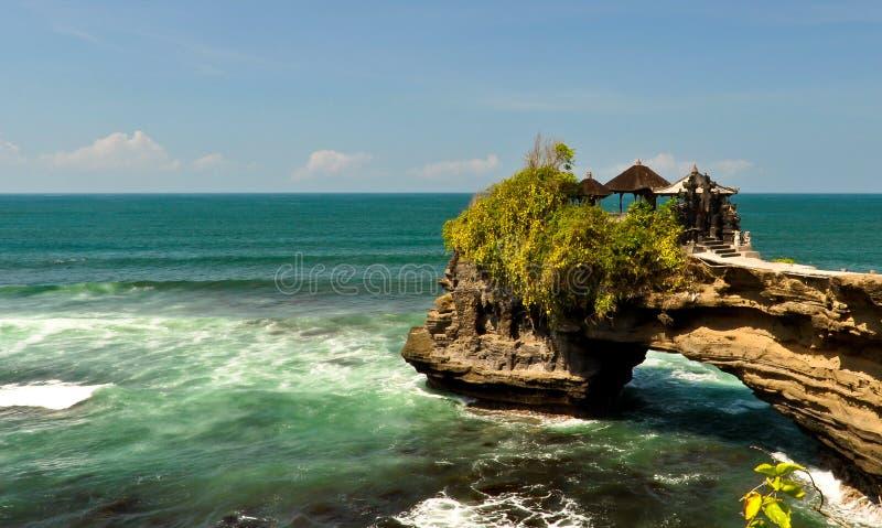 Tempio sulla costa di mare fotografie stock