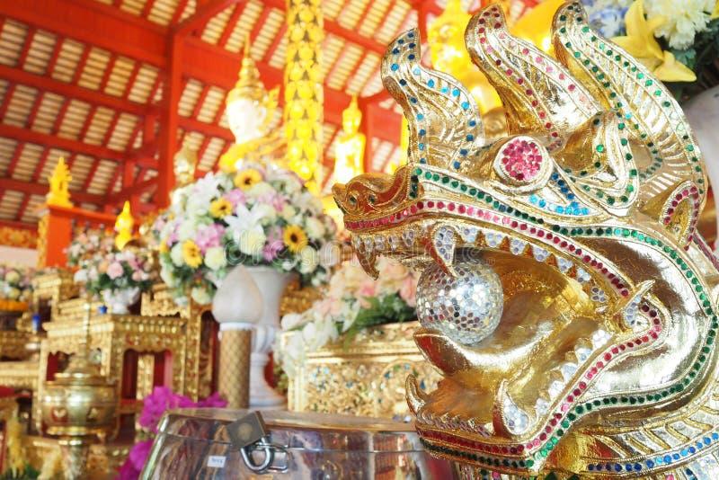 Tempio tailandese: Wat Suan Dorg immagini stock