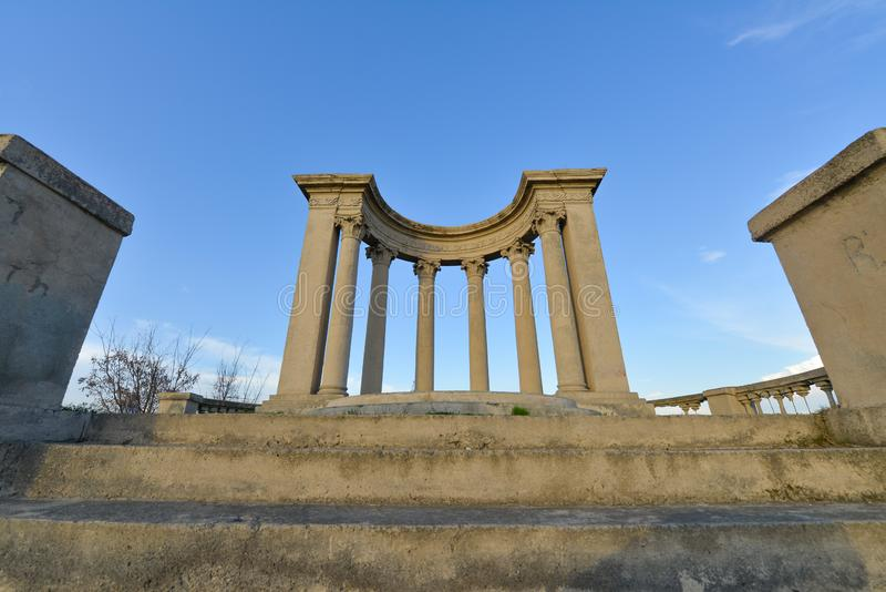Tempio a Yerevan, Armenia fotografia stock libera da diritti