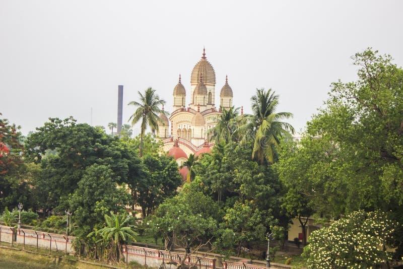 Templ de Dakshineswar Kali imagens de stock royalty free