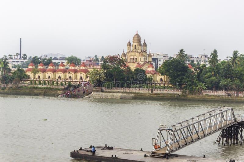Templ de Dakshineswar Kali foto de stock royalty free
