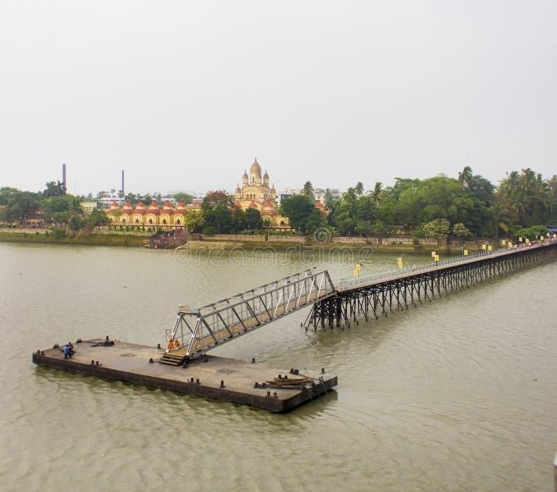 Templ de Dakshineswar Kali fotos de stock