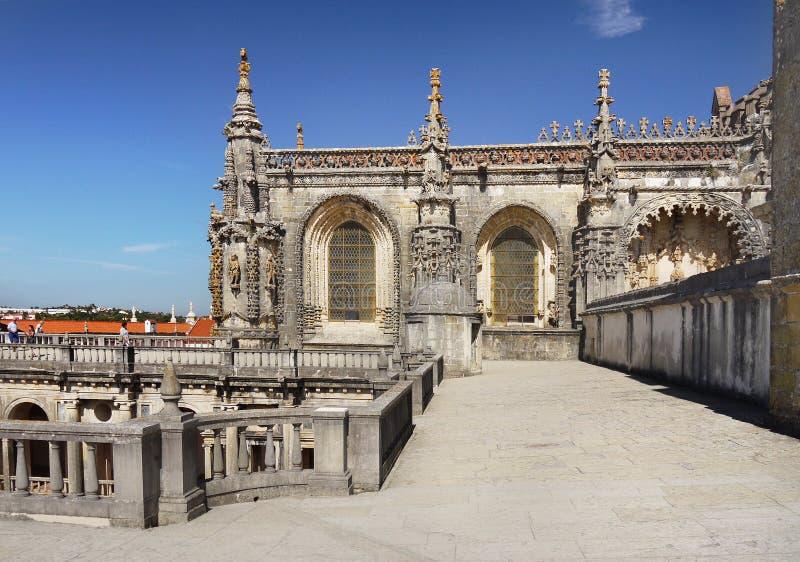 Templar Church. The Templar Church of the Convento do Cristo at Tomar, Portugal stock photos