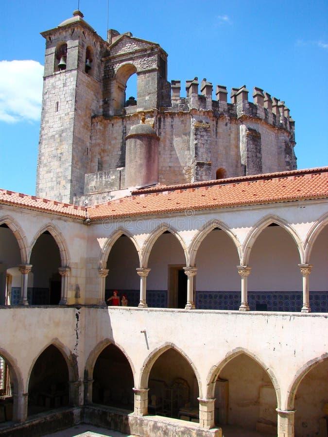The Templar Church at Tomar royalty free stock image