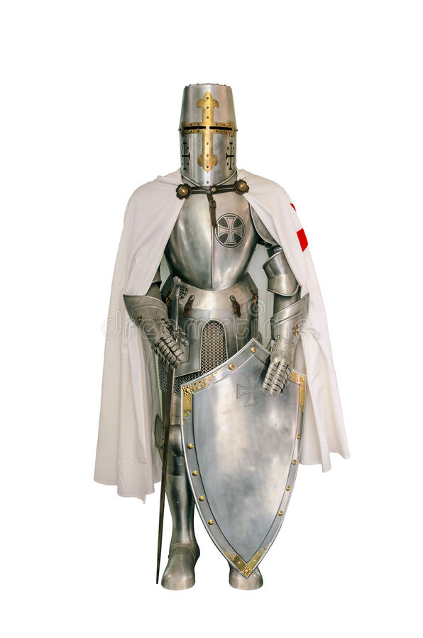 Templar knight royalty free stock images