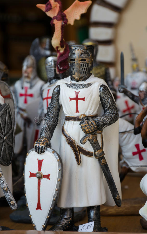 Templar knight royalty free stock photos