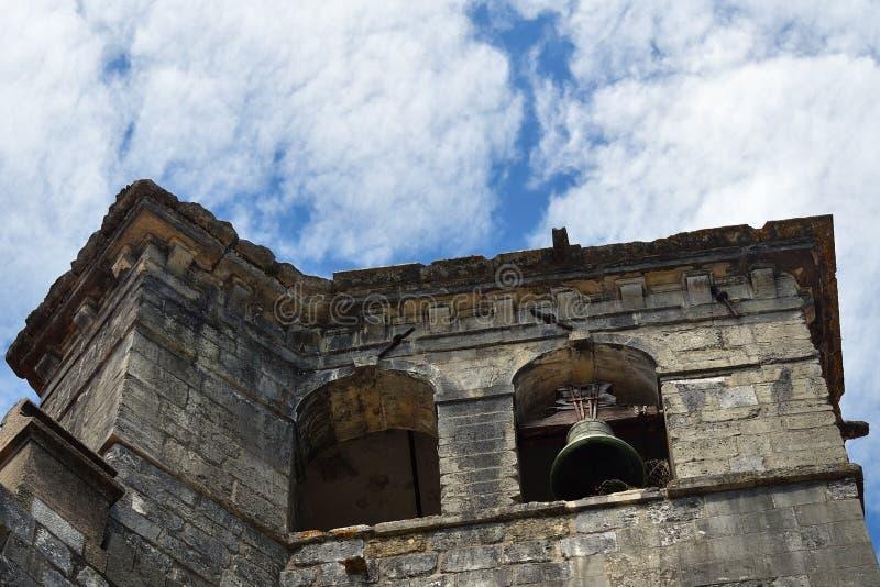 Templar kyrka av kloster av beställningen av Kristus i Tomar Po royaltyfria bilder
