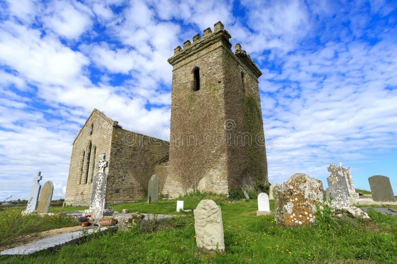 Templarkerk, Templetown, Provincie Wexford, Ierland royalty-vrije stock foto's