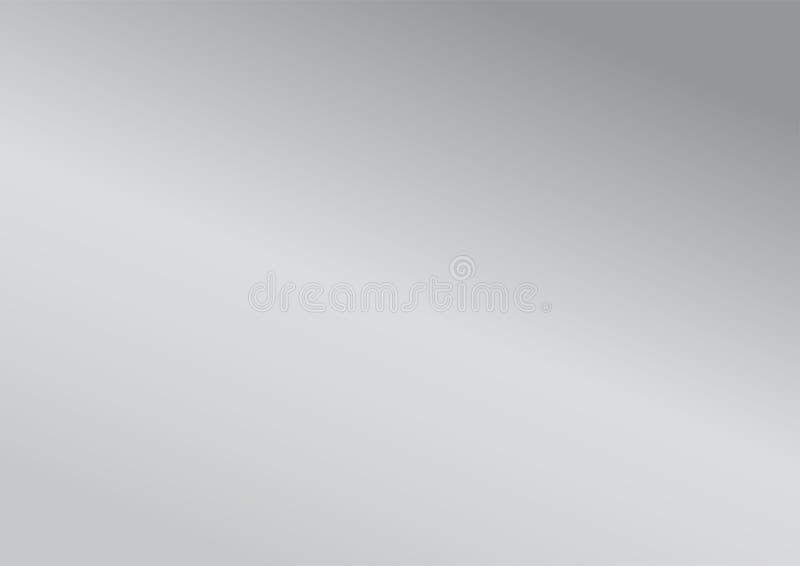 Templat gráfico de la disposición del metal plateado del fondo abstracto de la pendiente ilustración del vector