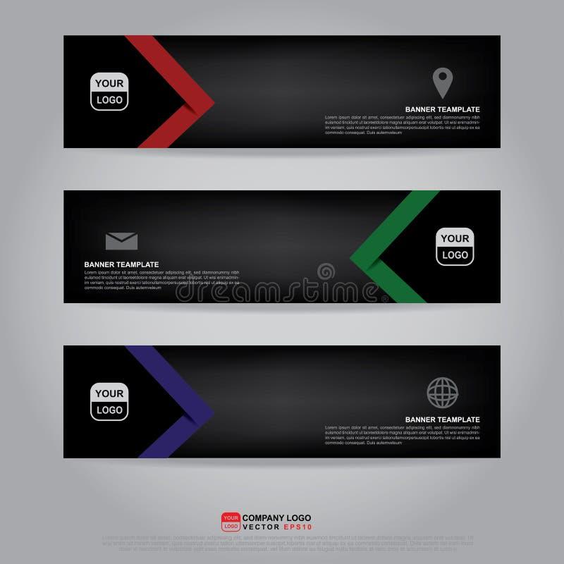 Template Of Banner, Brochure, Flyer And Card Voucher Stock Vector ...