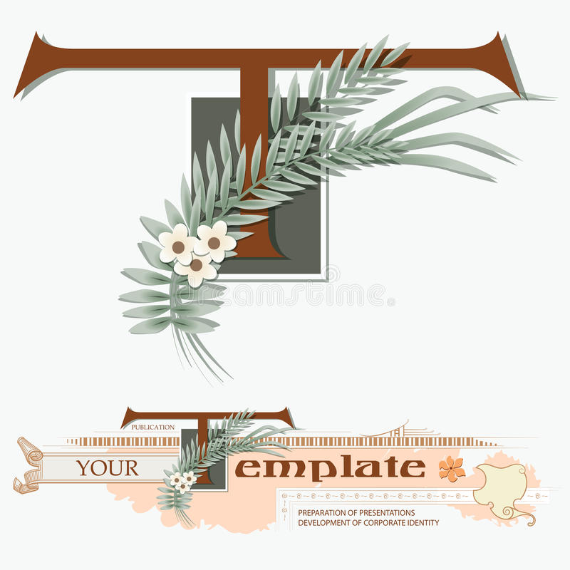 Download Template branding stock vector. Image of card, diploma - 24568663