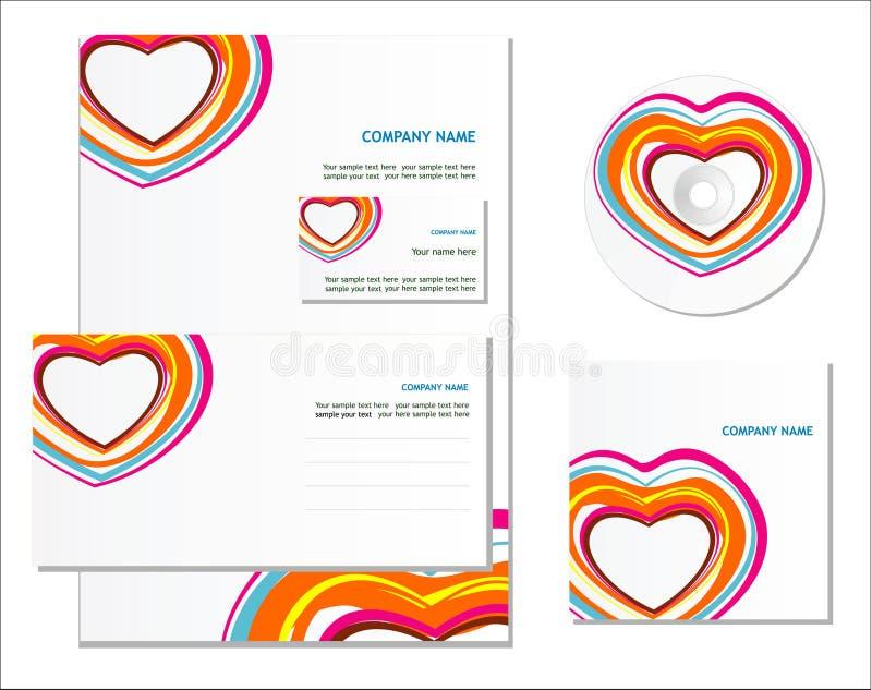 Download Template For Business Artworks. Stock Illustration - Illustration: 13202378