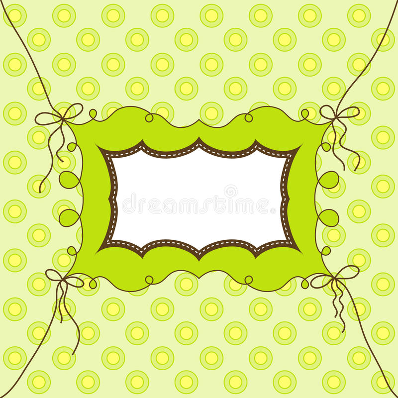 Template cards for the boy and girl,. Illustration stock illustration