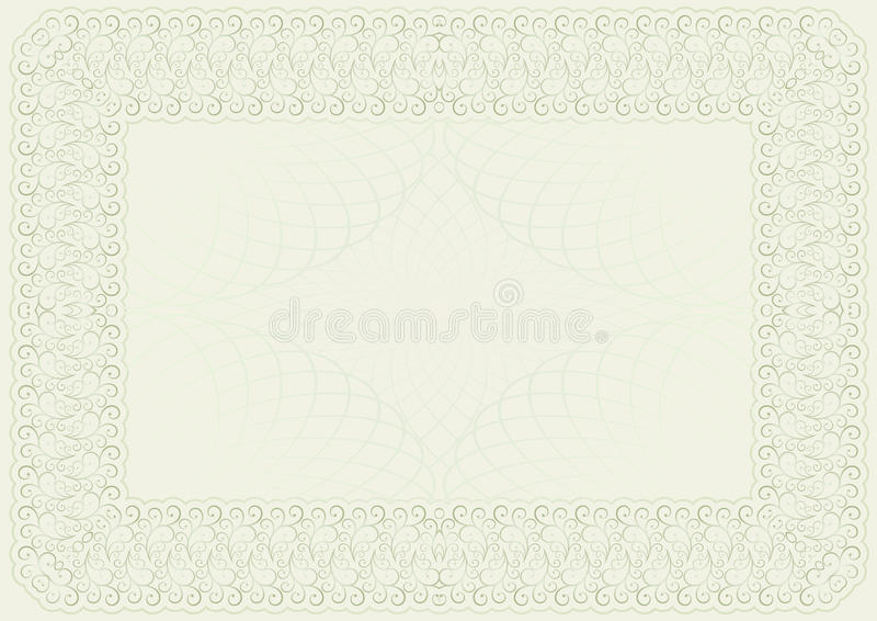 Template For Certificate Royalty Free Stock Photos