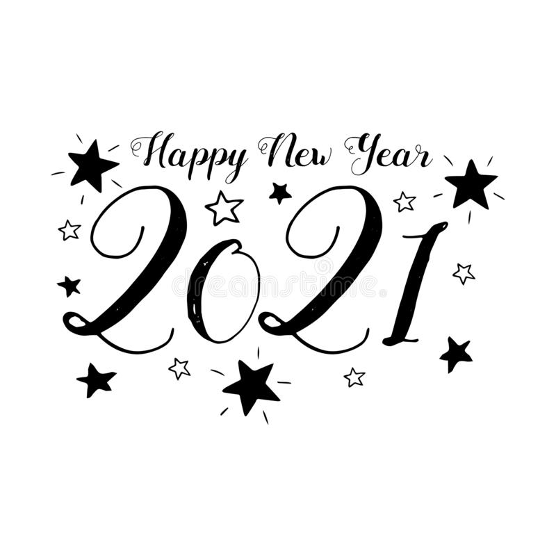 happy new year 2021 isolated stock vector illustration of flat label 167015414 happy new year 2021 isolated stock