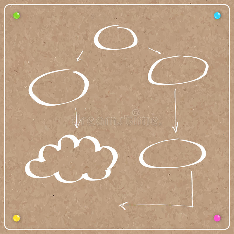 Template Cork Board With Balloons Stock Illustration ...