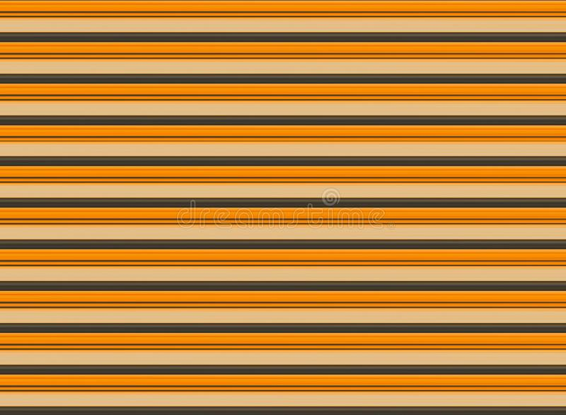 Template corrugated wooden base bright shiny background rustic light beige design horizontal lines stock illustration