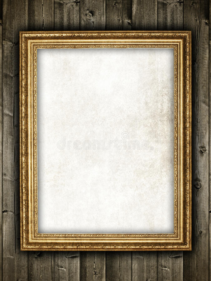 template-design-frame-wood-background-24022735 Old Letter Powerpoint Template on